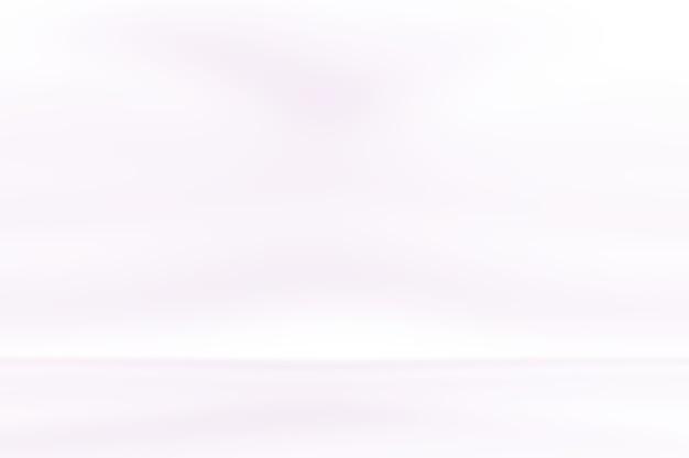 Studio achtergrond concept - abstracte lege lichte kleurovergang paarse studio kamer achtergrond voor product.