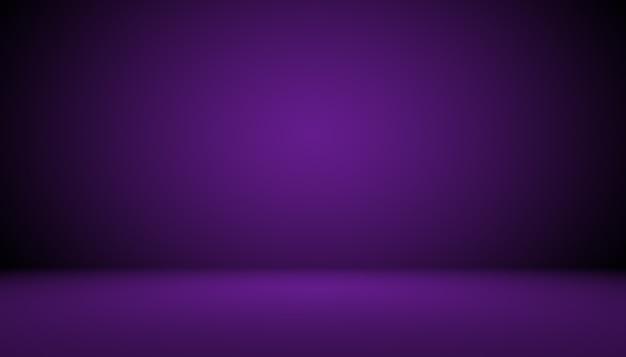 Studio achtergrond concept donkere gradiënt paarse studio kamer achtergrond voor product