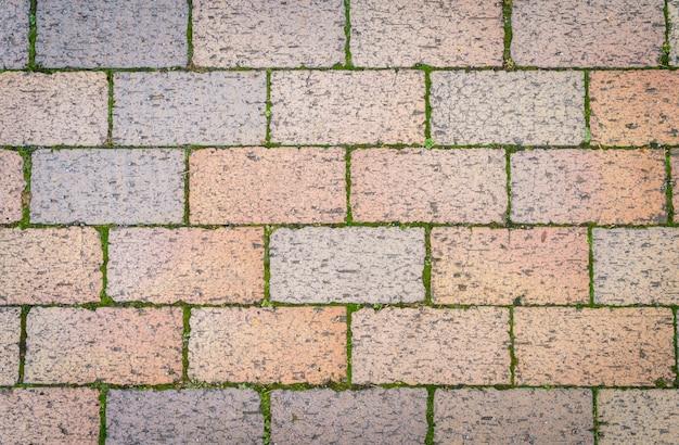 Stukken baksteen stenen stonewall achtergrond