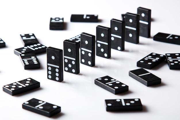 Stukken van domino