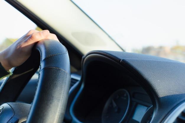 Stuur en rijden.