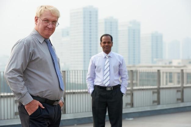 Succesvolle zakenmensen
