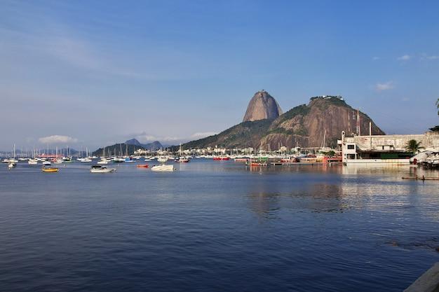 Sugarloafberg in rio de janeiro, brazilië