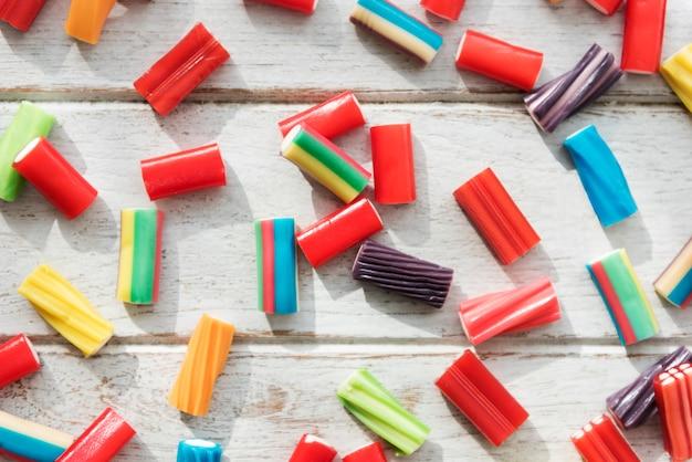 Suikergoed kleurrijk jello junk kid party concept