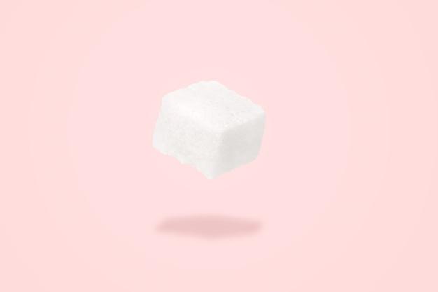 Suikerklontje zweeft