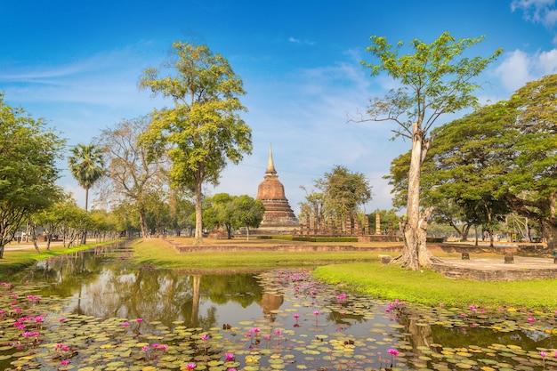 Sukhothai historisch park thailand