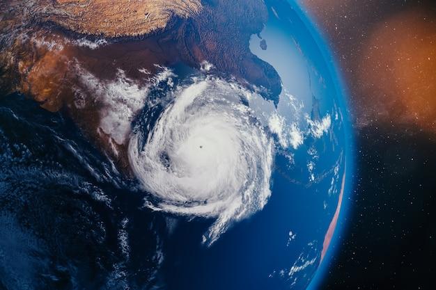 Super cycloon op weg naar india en bangladesh