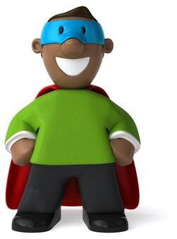 Super papa - 3d illustratie