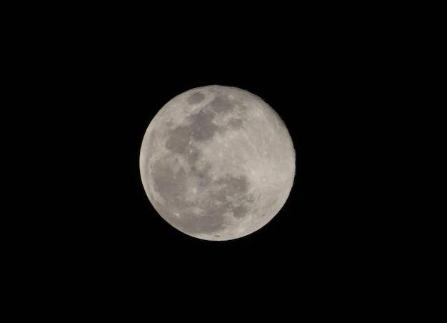 Super volle maan vanavond