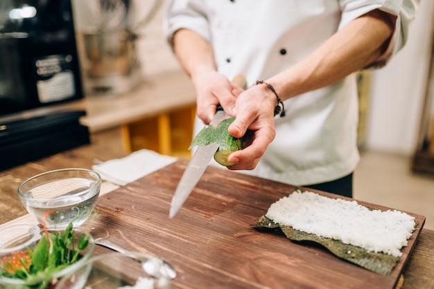 Sushi bereidingsproces, japanse keuken