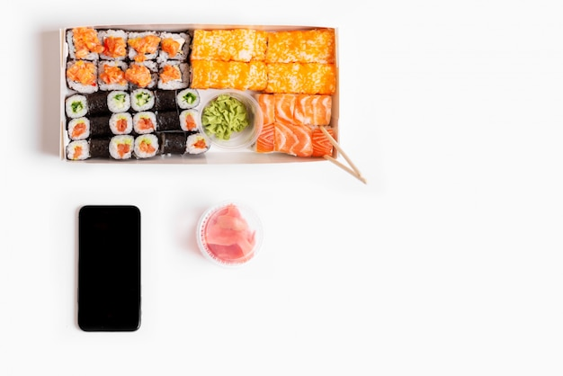 Sushi instellen