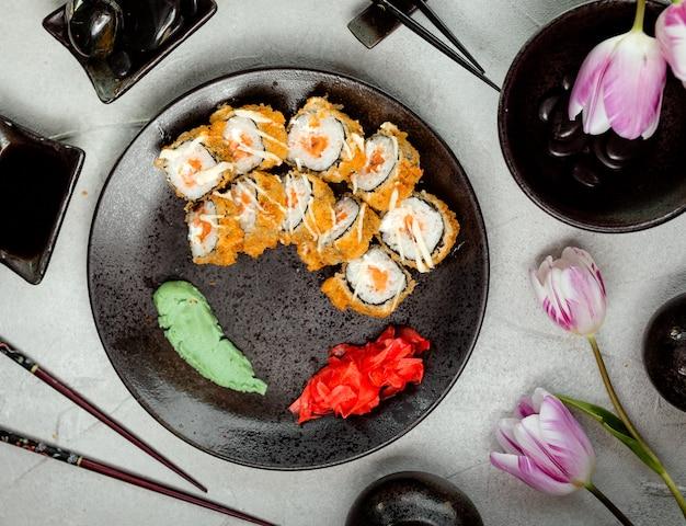 Sushi op de tafel