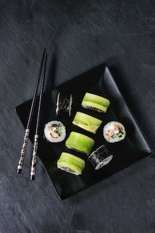 Sushi rollen instellen