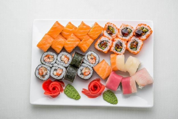 Sushi set, japans eten