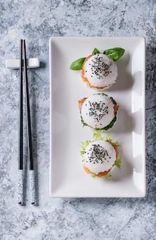 Sushi van rijstsushi