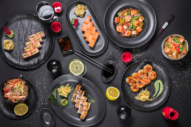 Sushischotel bij aziatisch restaurant