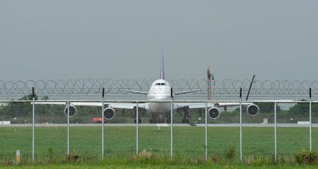 Suvarnabhumi international airport, thailand, thai airways-vluchten op suvarnabhumi airport