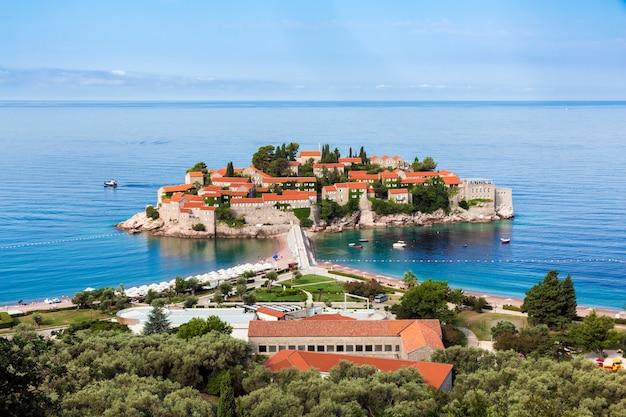 Sveti stefan-eiland, luxeresort in montenegro