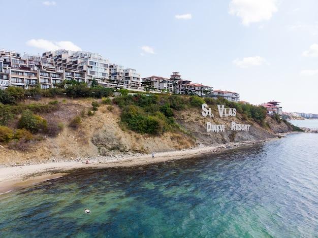 Sveti vlas belettering st vlas dinevi resort in bulgarije