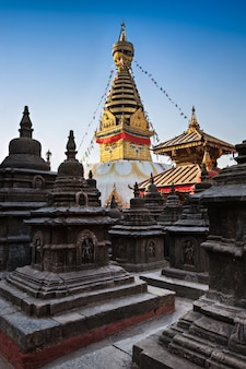 Swayambhunath-tempel