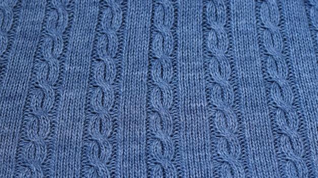 Sweater gemaakt van gemêleerd garen getextureerde achtergrond