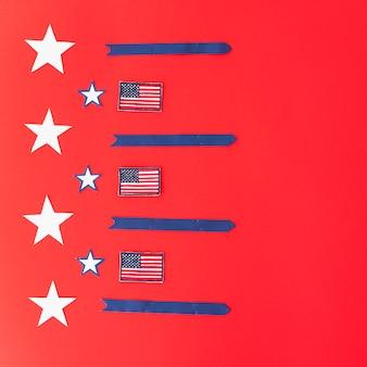 Symboliek van amerikaanse vlag
