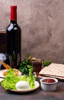 Symbolisch voor joodse feestdag pesah