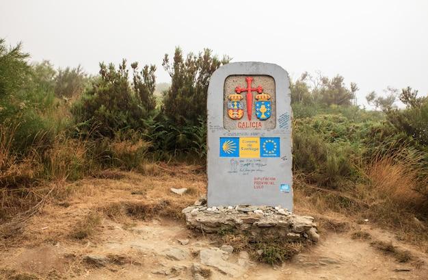 Symbool van de weg van st. james