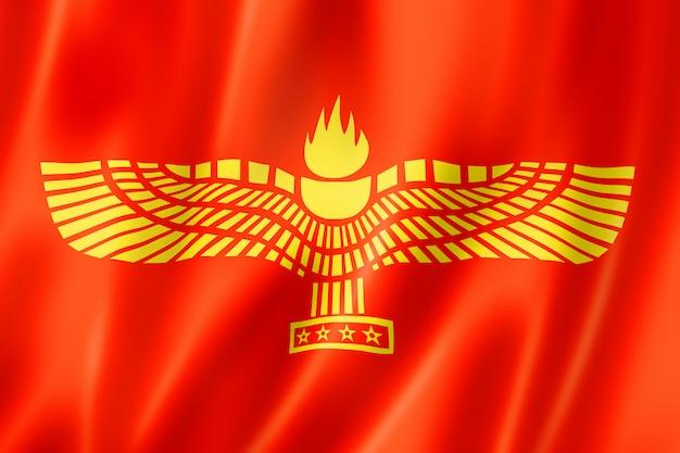 Syrisch-aramese volk etnische vlag