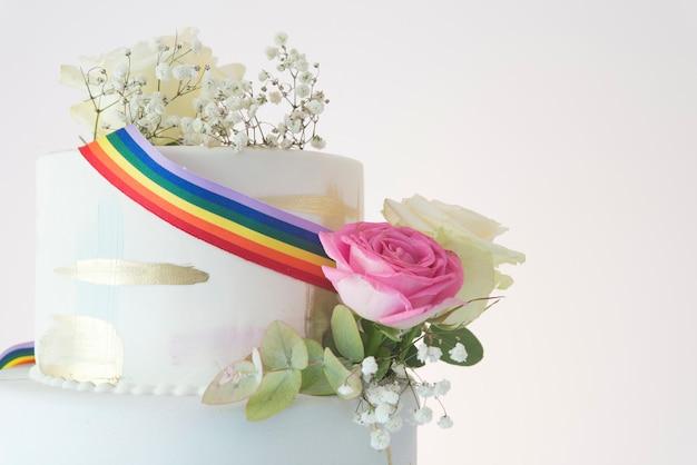 Taart bruiloft lgbt