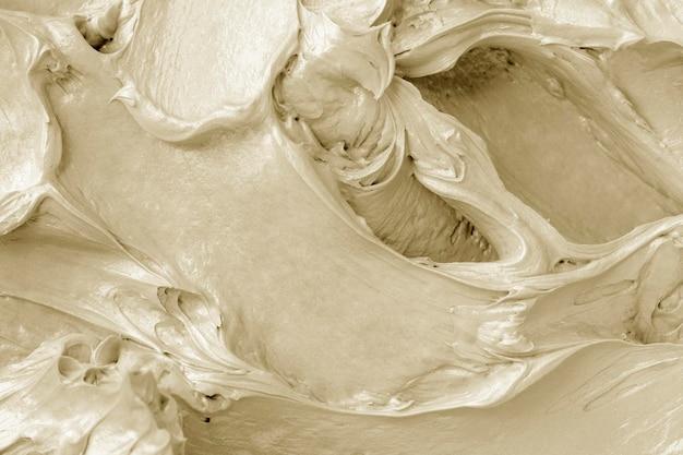 Taart glazuur textuur achtergrond close-up
