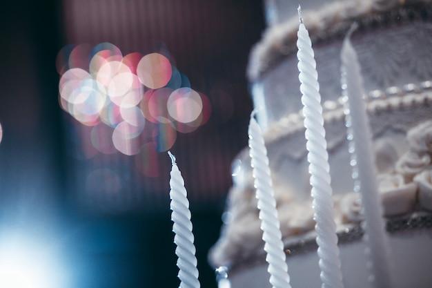 Taart in huwelijksceremonie