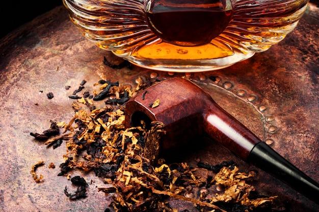 Tabakspijp en alcohol