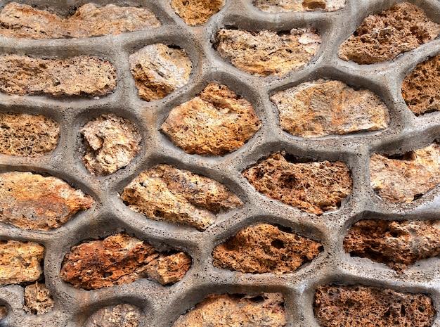Tabel textuur van stenen muur