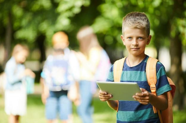 Tablet spelen voor school