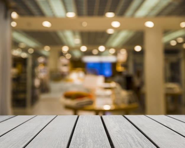 Tabletop op zoek naar winkelen
