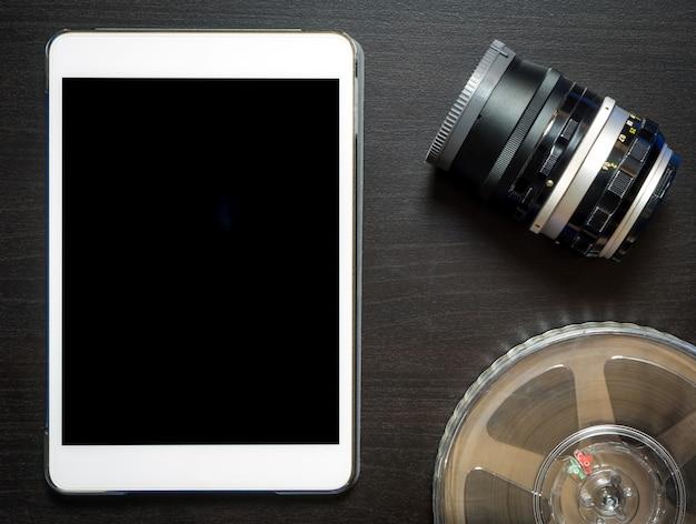 Tabletvideo-opname leeg scherm