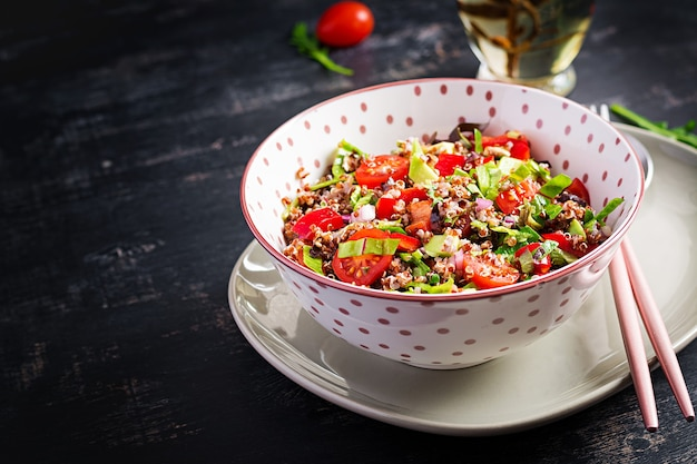 Tabouleh met quinoa