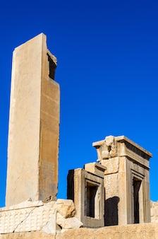 Tachara paleis van darius in persepolis, iran