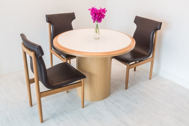 Tafel en stoel