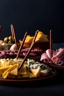 Tafel met vleeswaren