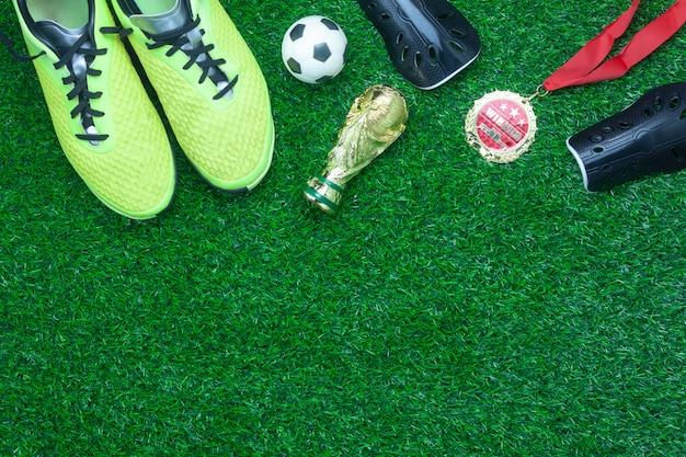 Tafelblad luchtfoto voetbal