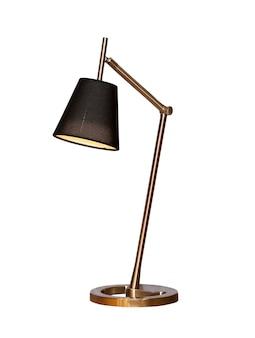 Tafellamp geïsoleerd op wit