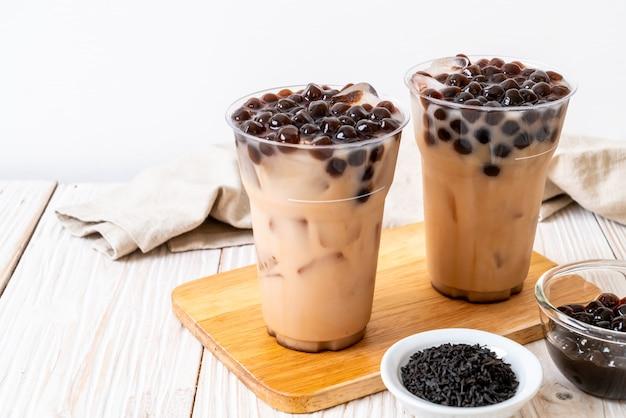 Taiwan melkthee met bubbel