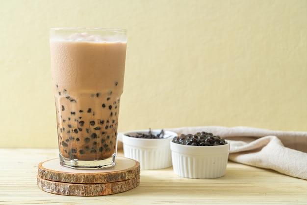 Taiwan melkthee met bubbels