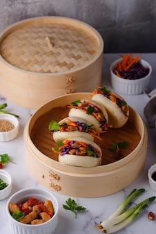 Taiwanese gua bao aziatische hamburger