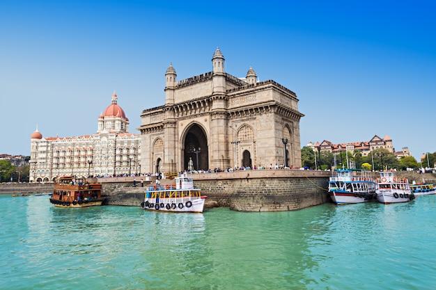 Taj mahal hotel en gateway of india