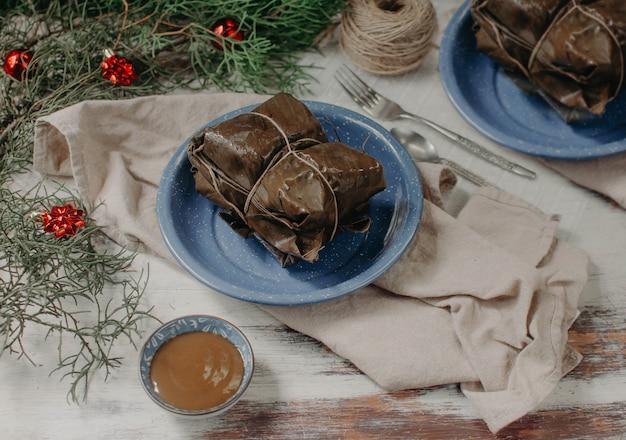 Tamales een traditioneel voedsel van latijns amerika