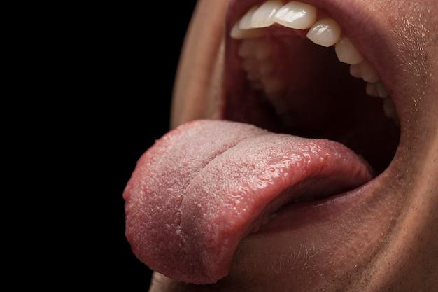 Tand tandarts mensen de gezondheid van voedsel