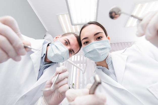 Tandartsen vanuit het perspectief van de patiënt